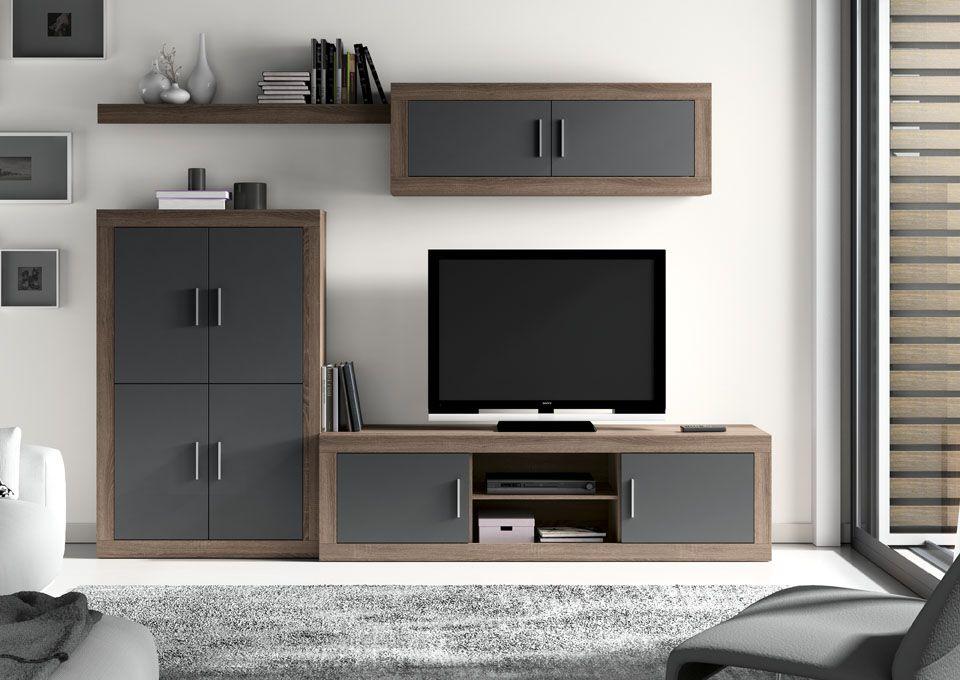 Comedores modernos y baratos - Muebles Dominguez TV Room