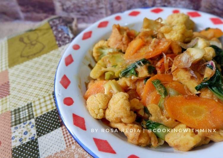 Resep Cap Jae Cap Cay Goreng Jawa Oleh Rosa Redia Resep Resep Masakan Masakan Resep
