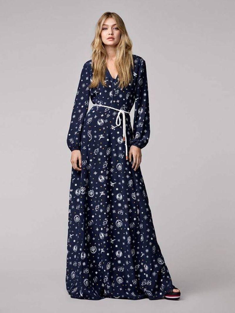 Gigi Hadid x Tommy Hilfiger Clothing Lookbook