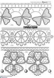 Resultado de imagen para cordones de crochet irlandes y rumano