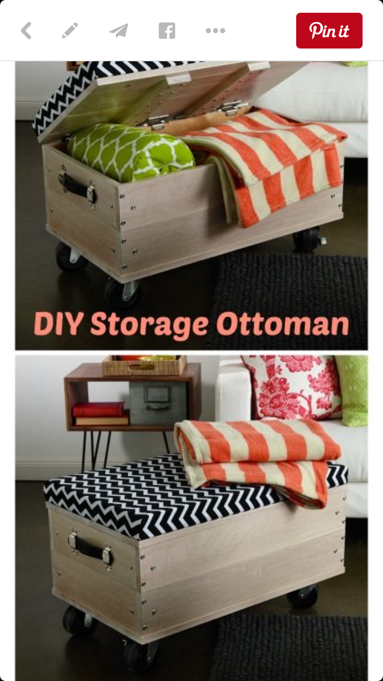 IKEA wheeled wood boxes | Madness Organized | Pinterest | Baúl ...