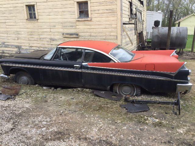 Two 1958 Dodge Custom Royals For Sale Classic Cars Winnipeg