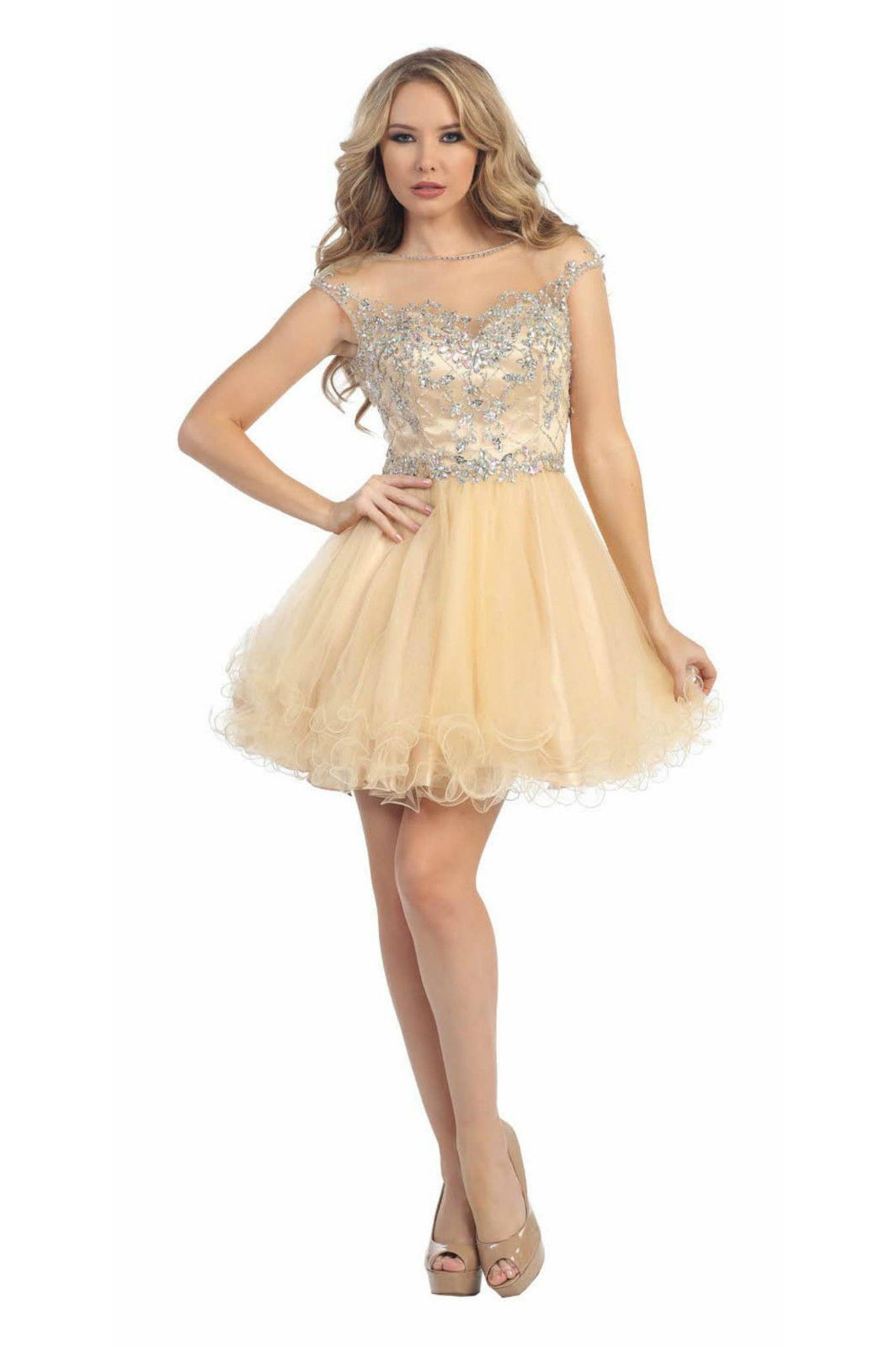 Short prom dress cocktail formal homecoming products pinterest