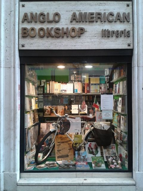 Anglo-American Bookshop ~ Rome, Italy