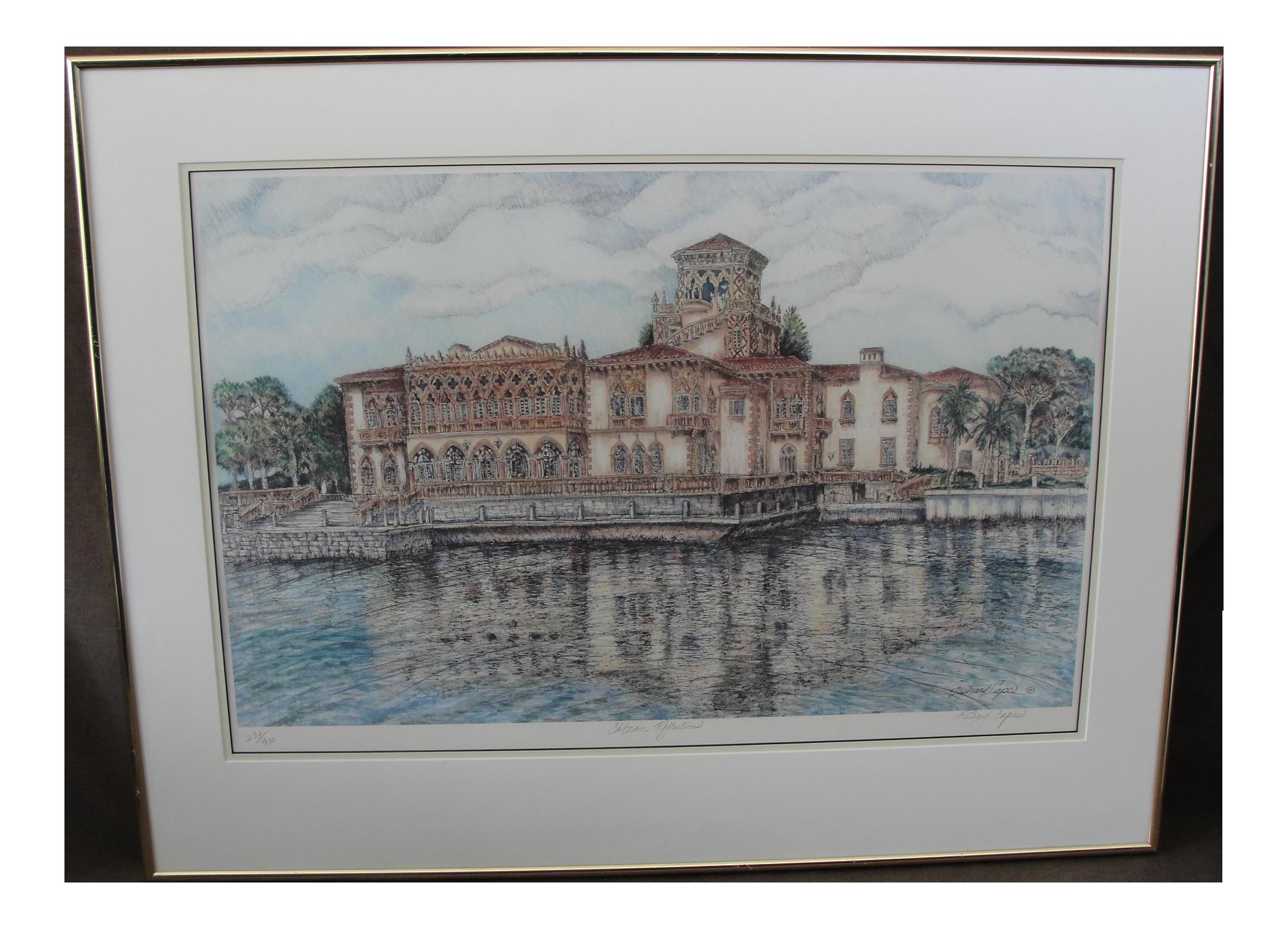 Richard Capes Ca\'d Zan Reflections Ringling Mansion Sarasota Florida ...