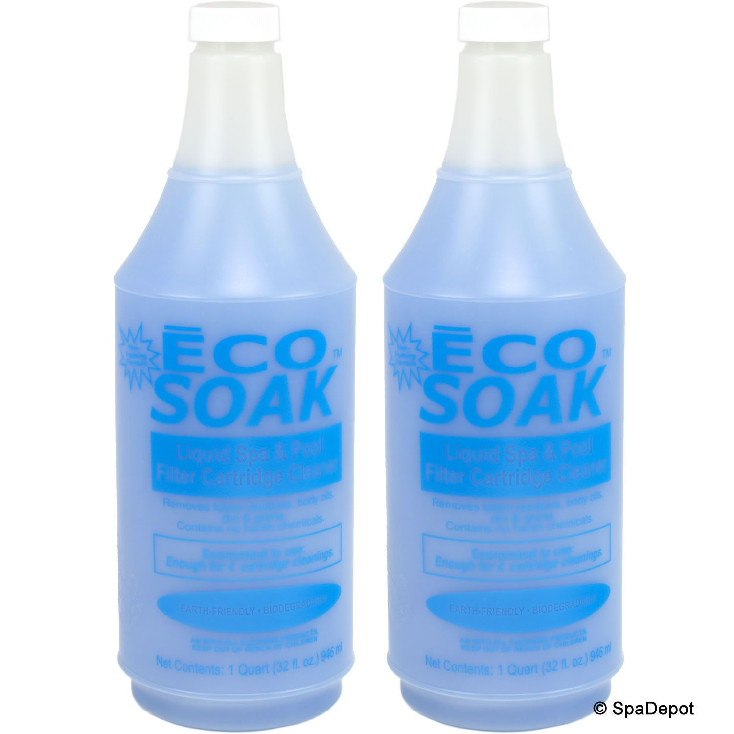 Other Pools and Spas 3243 Eco Soak Filter Cleaner For Hot
