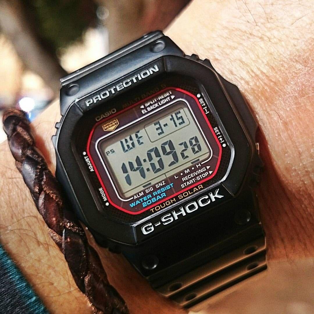 Casio G-Shock GW-M5600. | Casio, Casio g shock, G shock