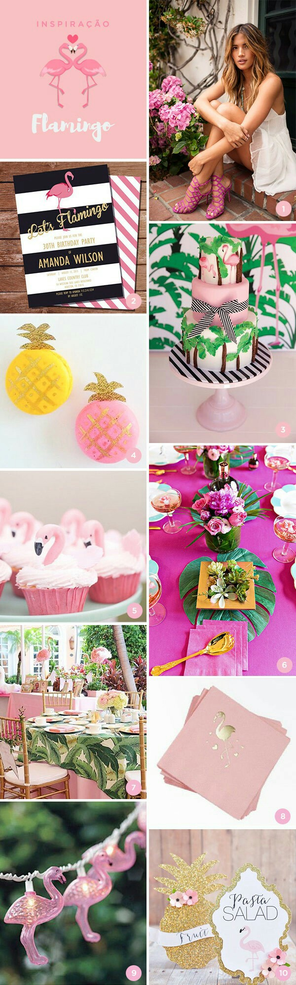 Flamingo Party | Tropical Party | Tropical Theme | Luau Party | Baby ...