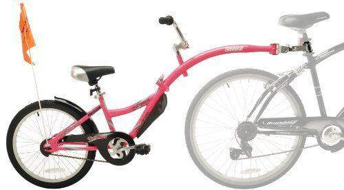 Weeride Co Pilot Bike Trailer Pink 016751364599 Sturdy