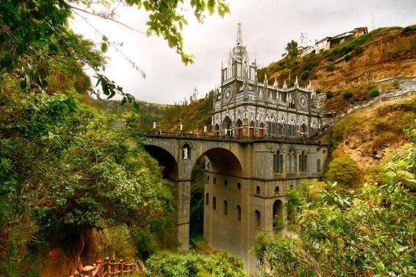 Las Lajas Sanctuary. Colombia