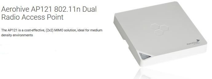 Aerohive AP141 N-W Indoor Enterprise Access Point #network #leaflets
