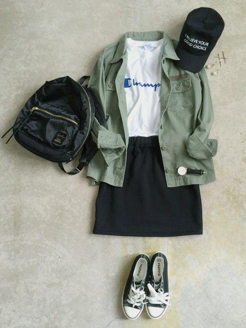 ナチュラル服のイタフラ|しまむらのスカートを使ったコーディネート - WEAR