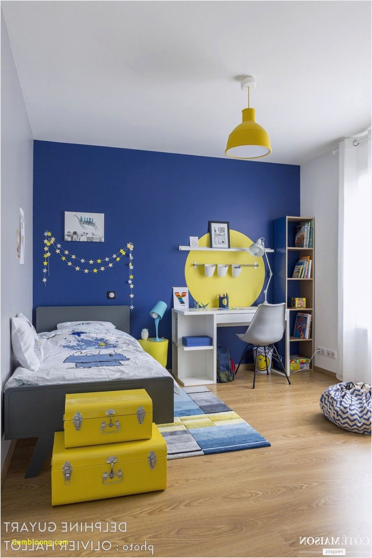 40+ Chambre garcon bleu et jaune trends