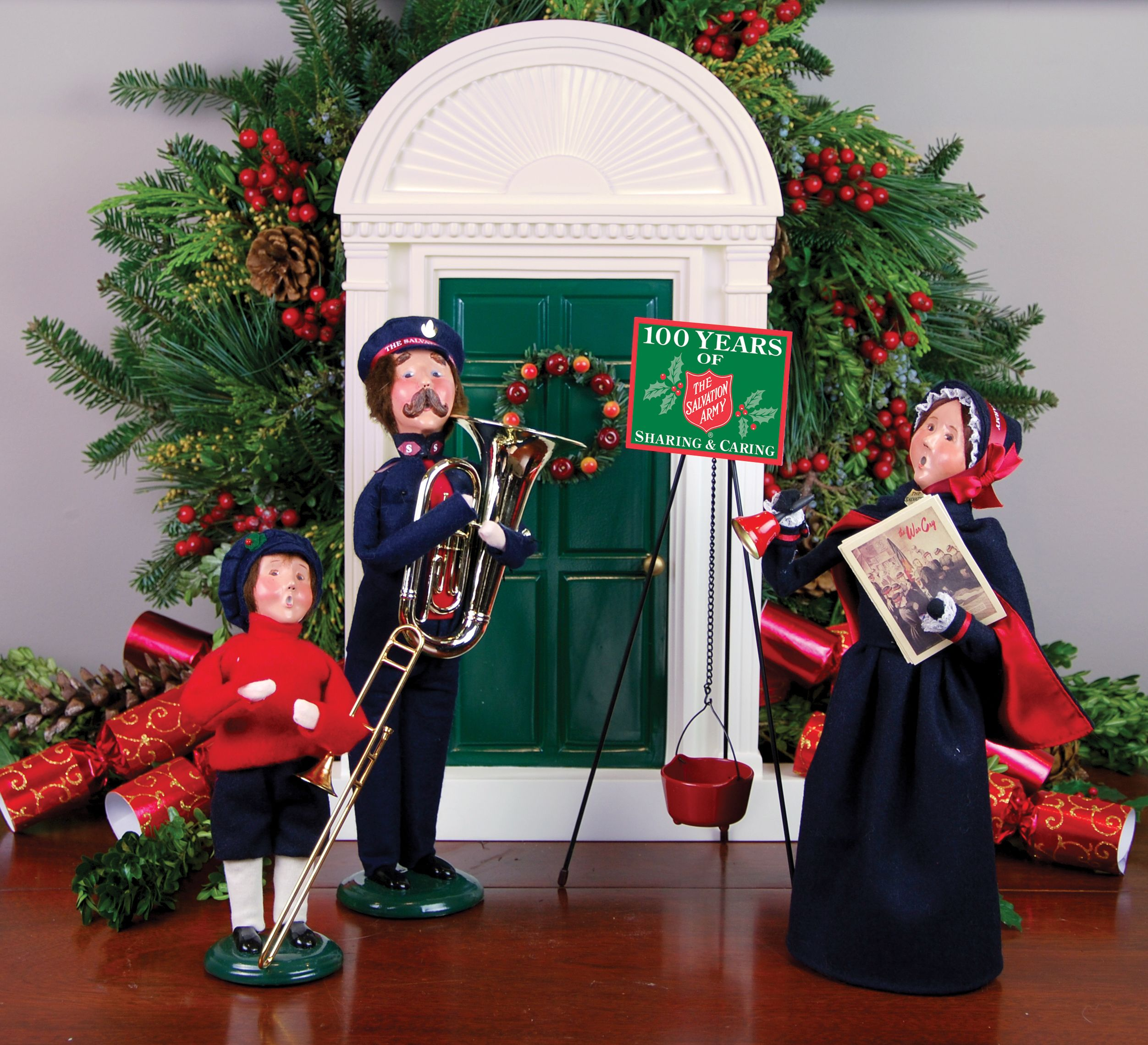 Salvation Army Gifts For Christmas: Byers' Choice Carolers — Salvation Army Series