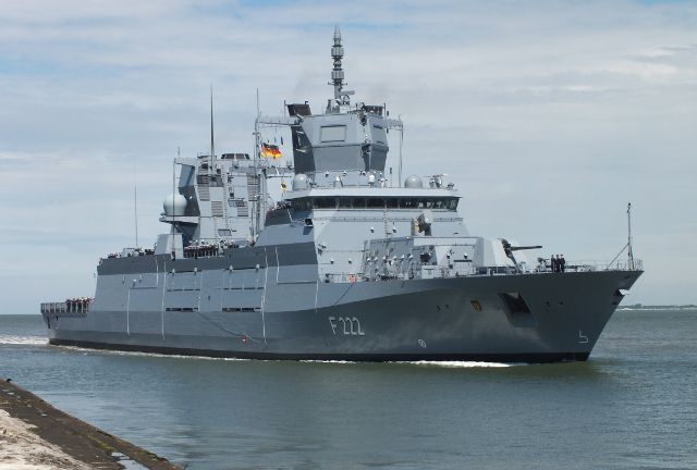German Navyu0027s new frigates have a listing problem Report Naval - problem report