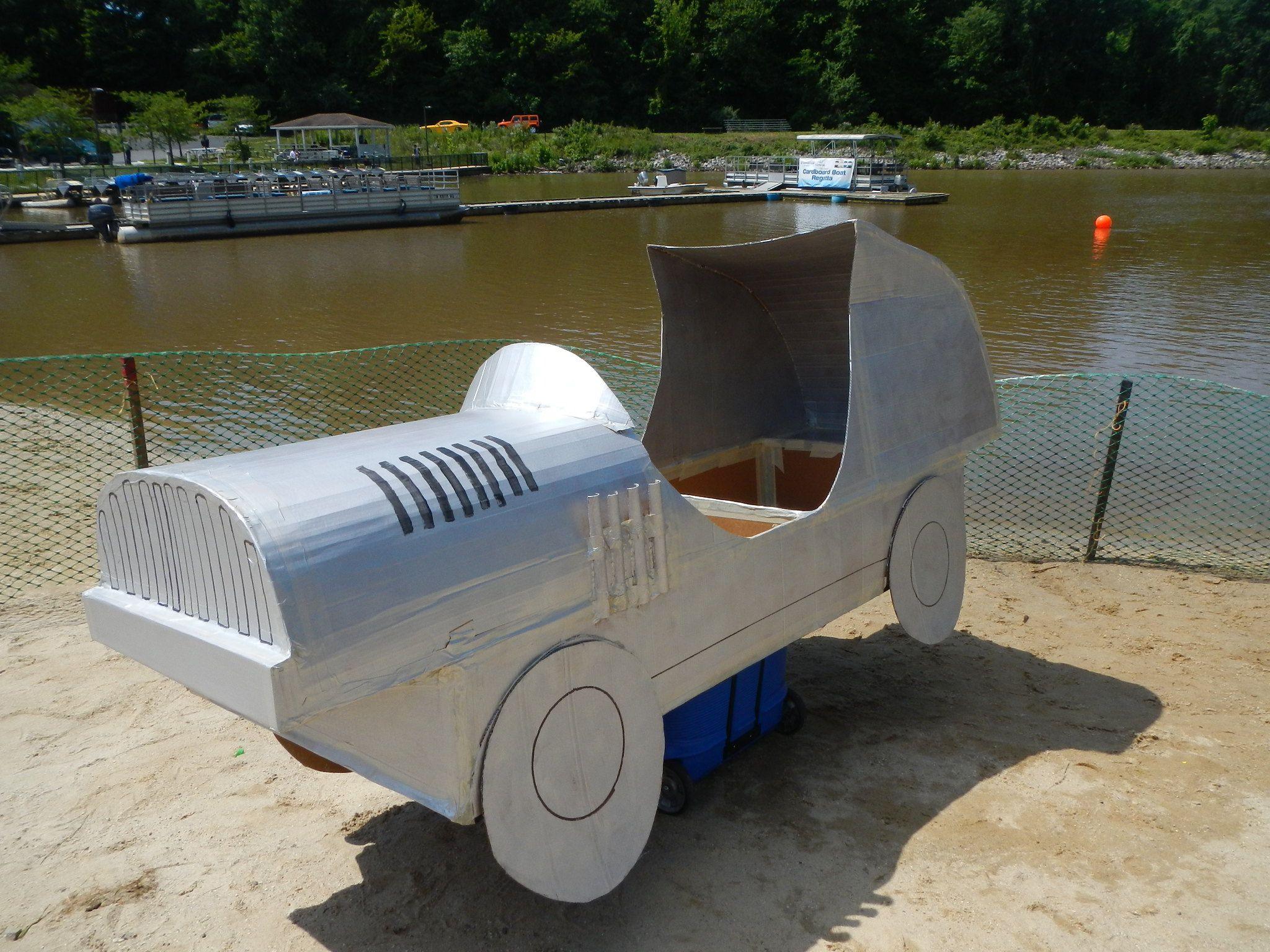 Cardboard Regatta Ideas Plans Instructions