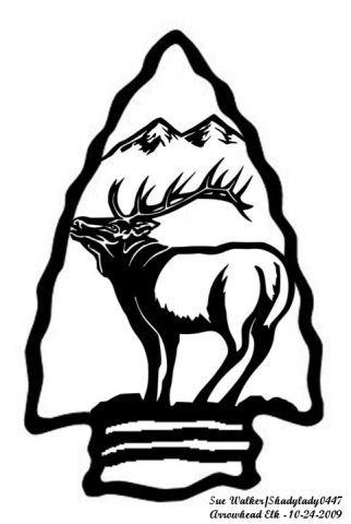 Arrowhead Elk Animals User Gallery Scroll Saw