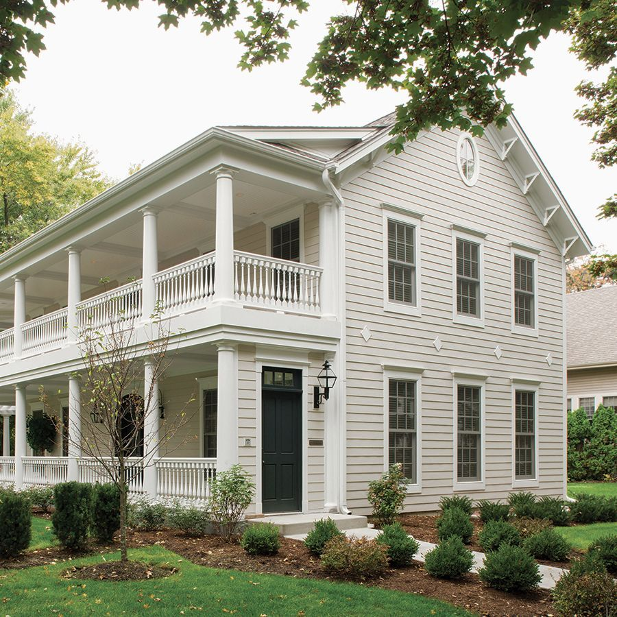 Off White House White Trim Google Search House Paint Exterior
