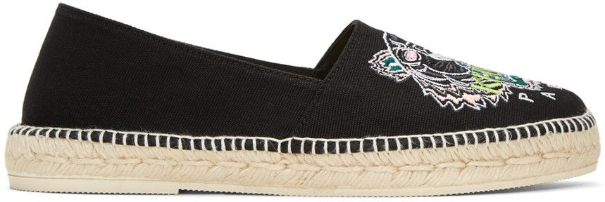 Buy Cheap Inexpensive Latest Discount Kenzo Navy Canvas Classic Tiger Espadrilles Discount Perfect Natural And Freely On9rBk
