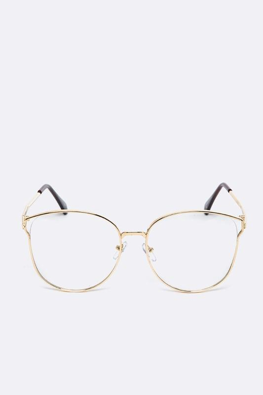 Clear Lens Thin Frame Fashion Glasses Armacoes De Oculos