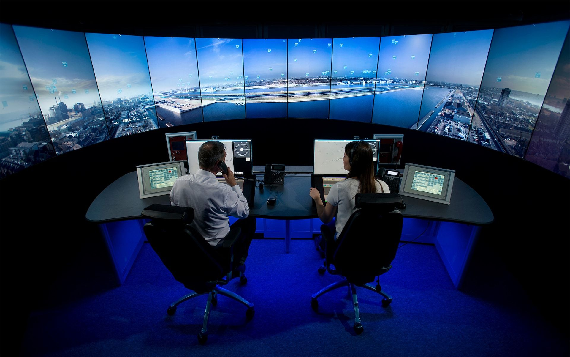 Inside the air traffic control tower of the future 80
