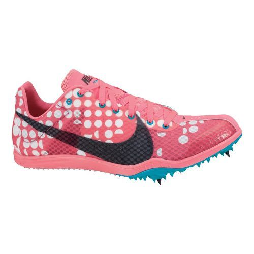 Women's Nike Zoom W4 Track and Field Shoe - Pink/Turquoise 7. these are