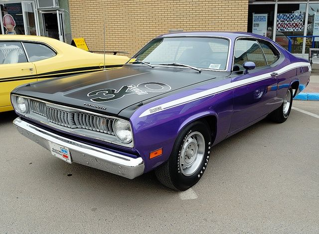 Purple Plymouth Duster Plum Crazy 71 Plymouth Duster Plymouth Duster Mopar Muscle Cars Muscle Cars