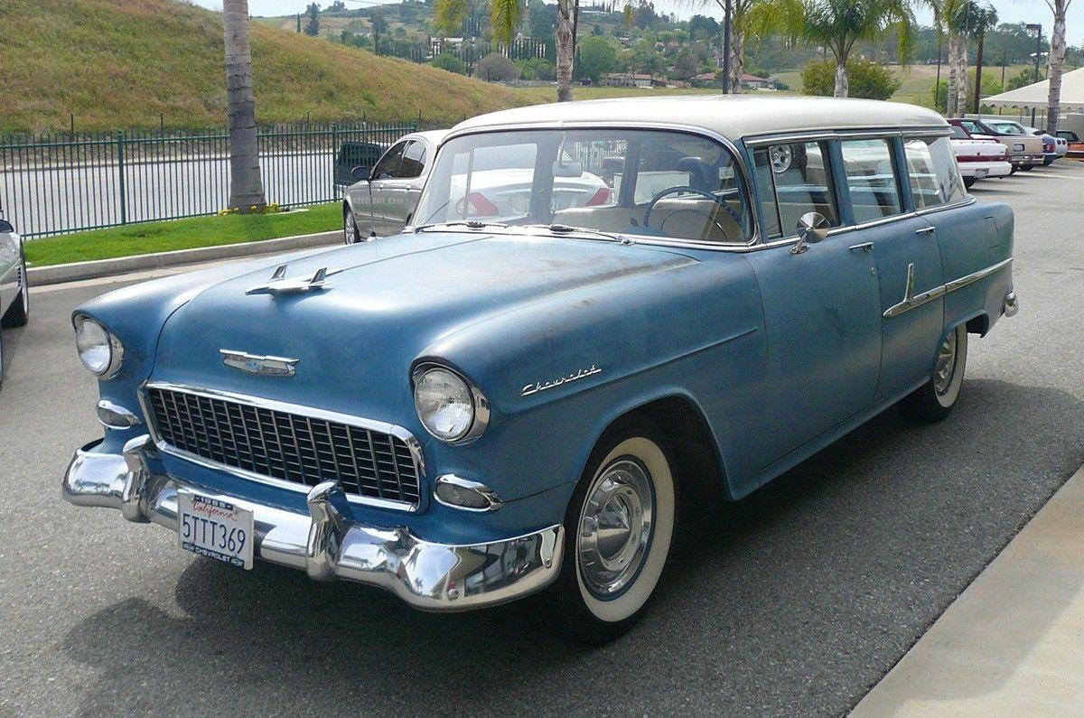 1955 Chevrolet 210 4 Door Station Wagon Station Wagon 1955 Chevrolet Chevrolet
