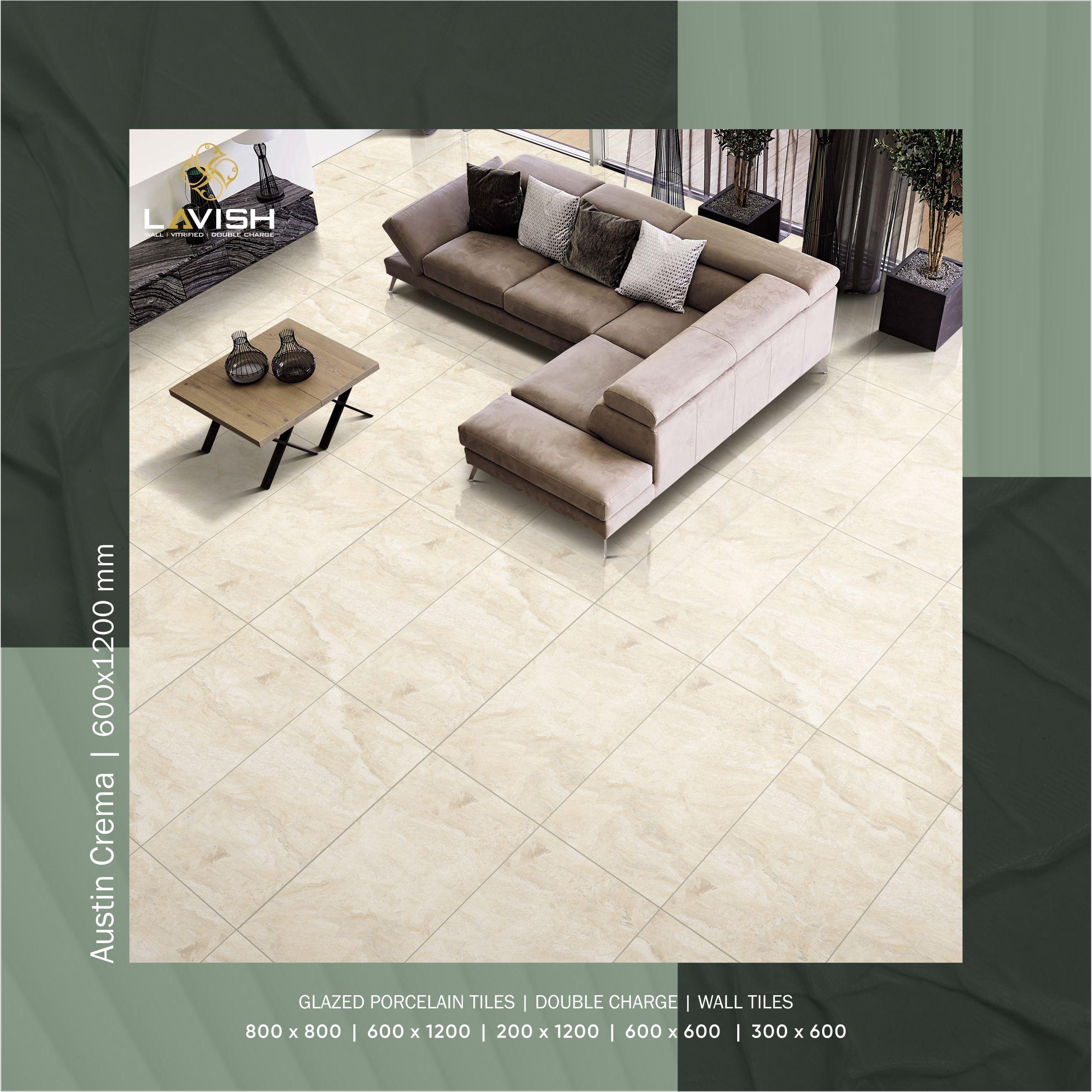 Lavish Ceramics Presents 600x1200mm Austin Crema Glazed Porcelain Tiles Tile Manufacturers Tiles Room Tiles