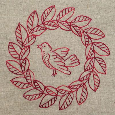 Jump Into Redwork With These 9 Embroidery Patterns