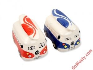 GoWesty!  salt and pepper shakers