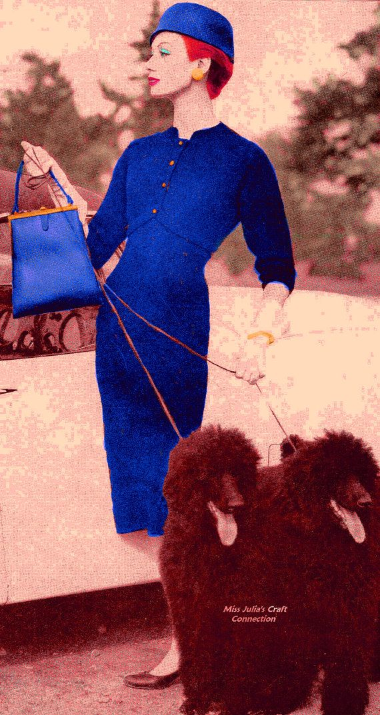 A BEST Vintage 1950s Vogue Princess Sheath von MissJuliasPatterns