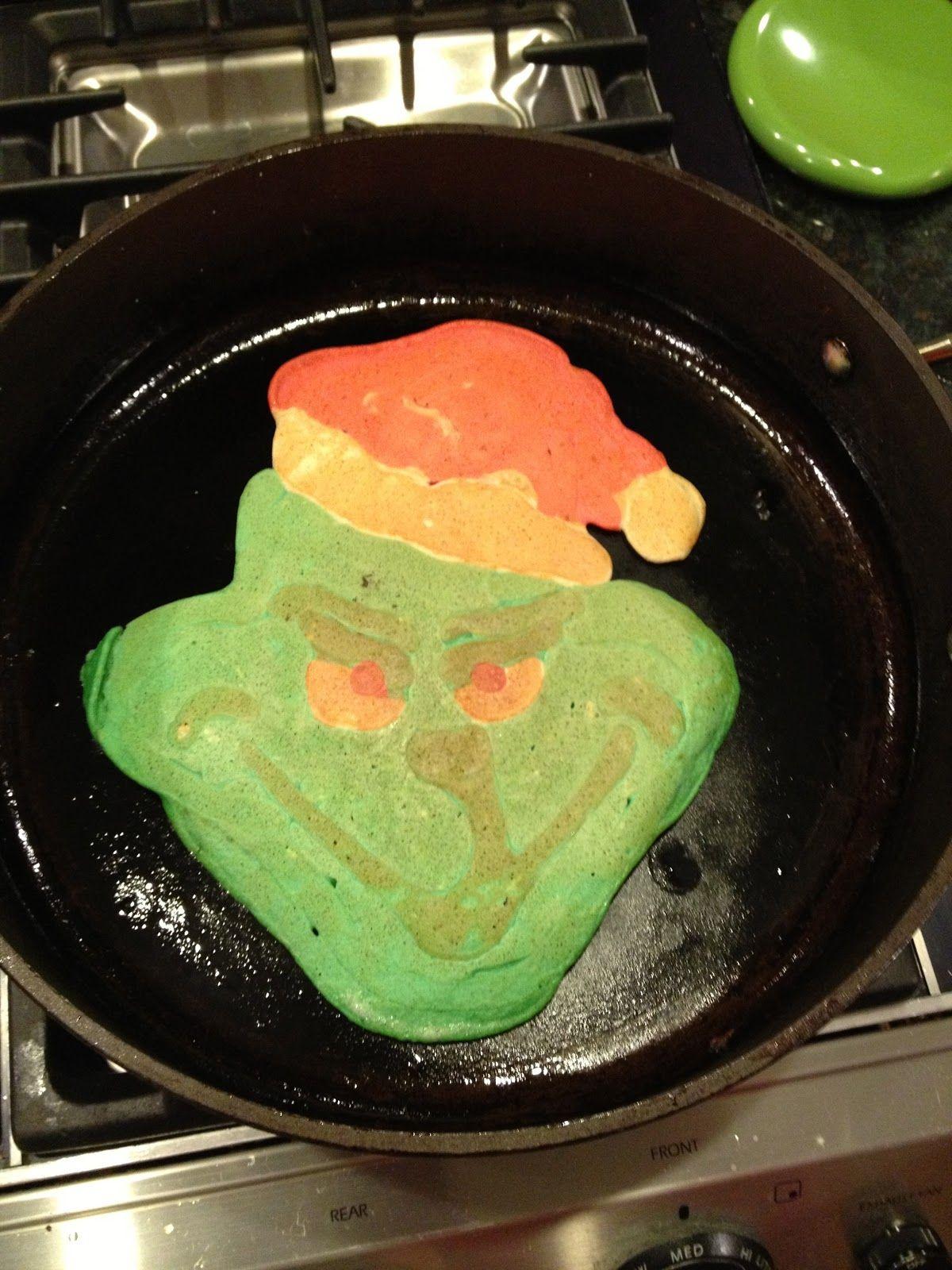 Grinch Pancakes! | Cute Kid Food