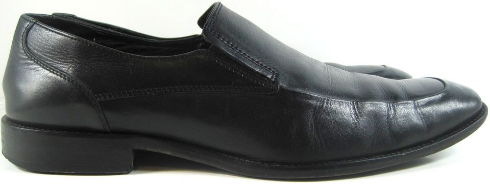 Johnston Murphy Men Loafer Shoes Size 12M Black Style 10165.  YYY 5 #JohnstonMurphy #LoafersSlipOns