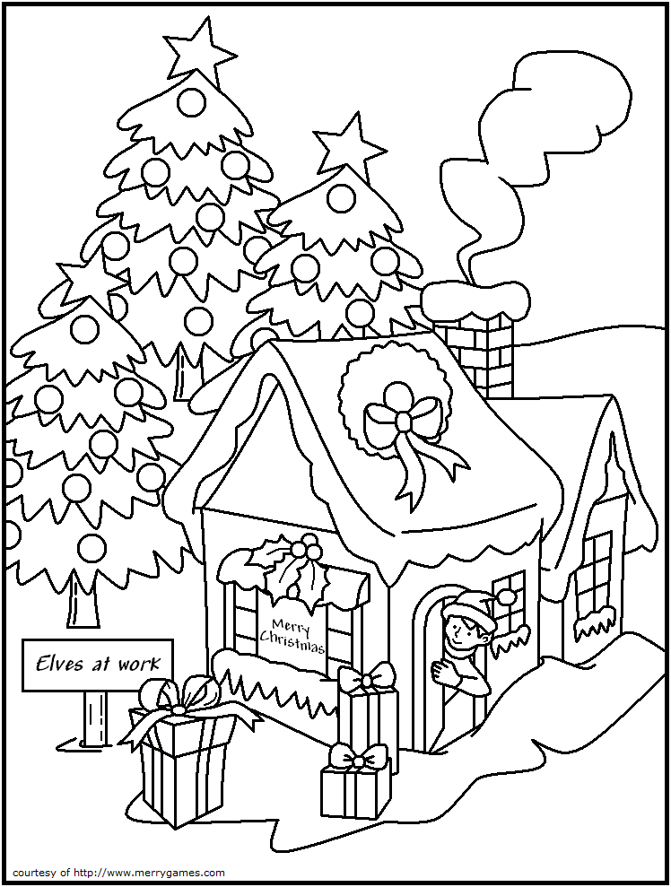 Free Printable Christmas Coloring Pages Adult Coloring 2