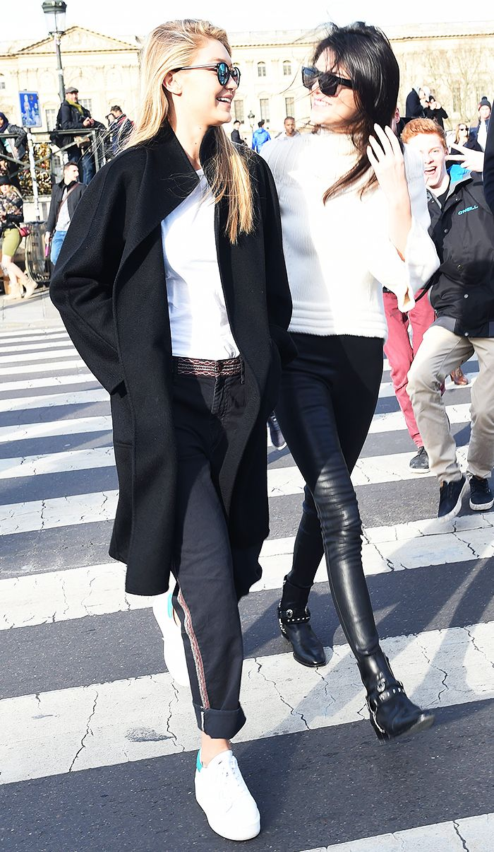 07ce14d4af96 13 Candid BFF Pics of Kendall Jenner and Gigi Hadid