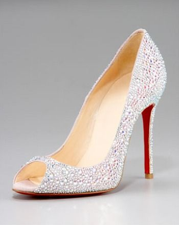 christian louboutin bridal shoes price
