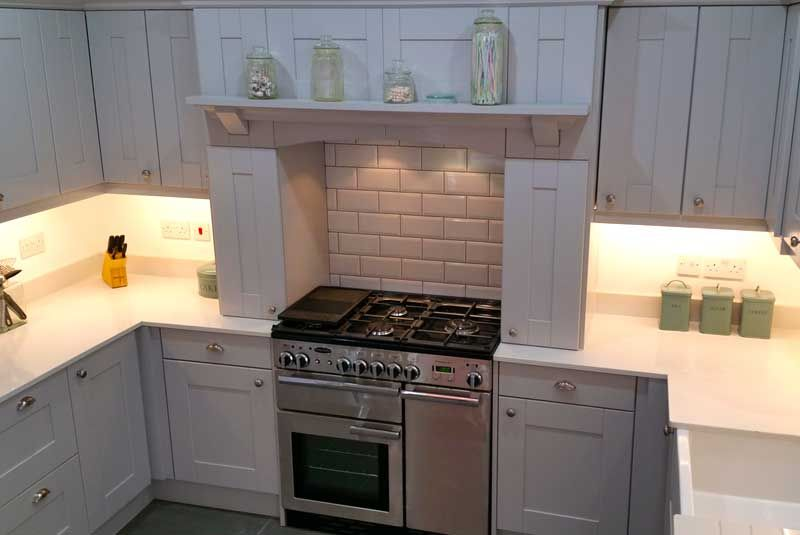 Best An Innova Linwood Light Grey Shaker Kitchen Kitchen 640 x 480