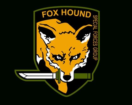 Metal Gear Foxhound Logo