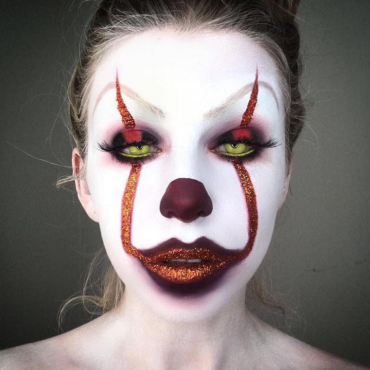 Idée maquillage Halloween 2018   une veille de la Toussaint qui fera ... c9efb6ea3df6