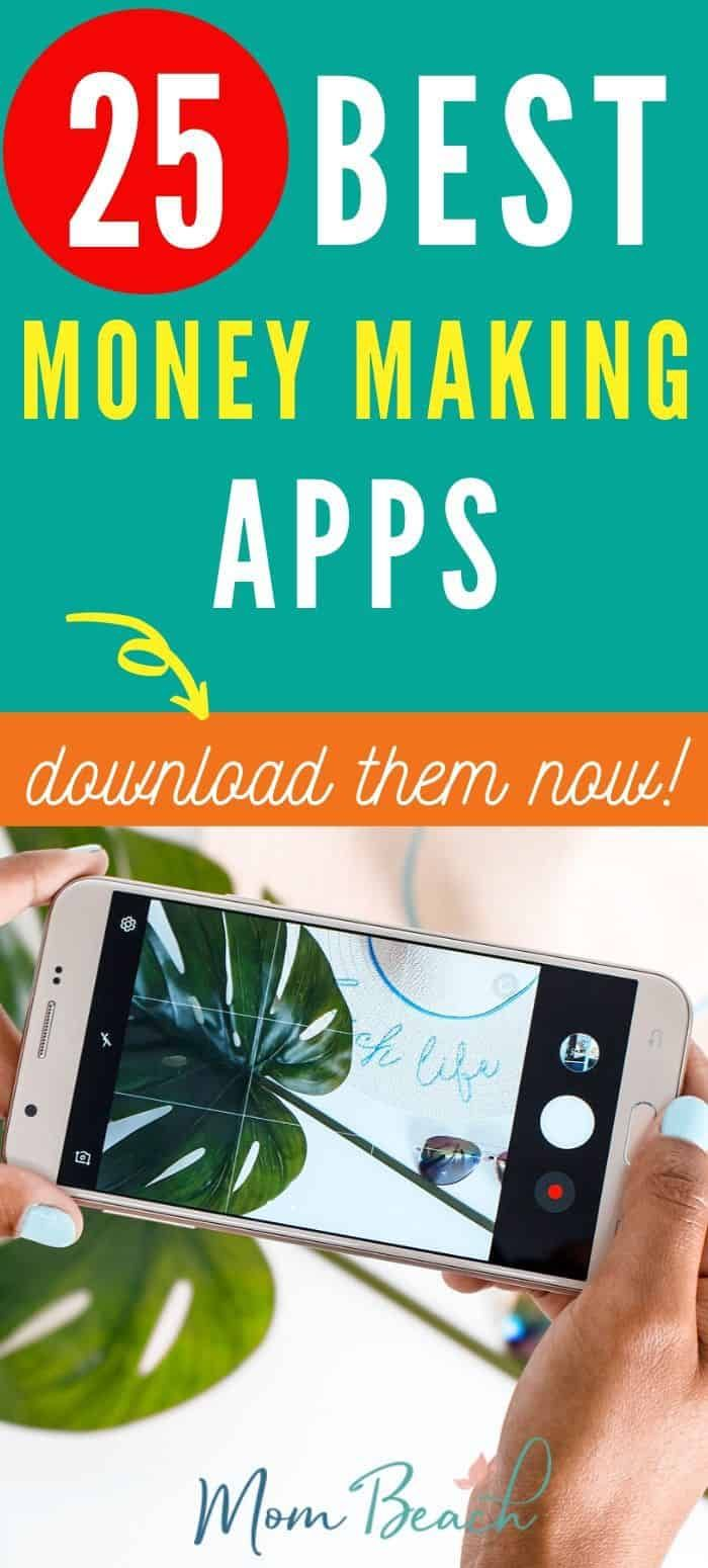 25 Money Making Apps To Make Extra Cash Best Money Making Apps