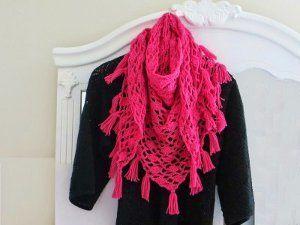 Effortless Crochet Shawl | AllFreeCrochet.com