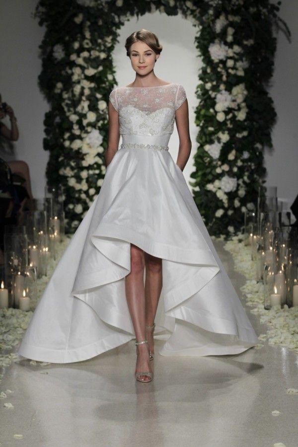 Whitney Port Reveals Dipped Hem Wedding Dress Weddingdress Dippedhem