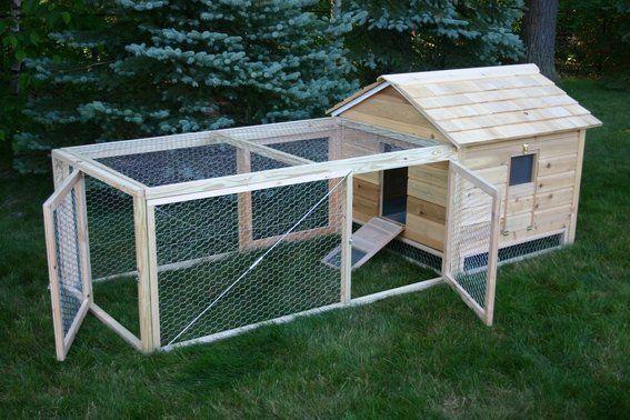 Wire Netting Mesh Chicken Coop Run Rabbit Poultry Waterfowl Hutch Garden Fence