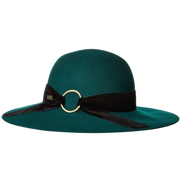 2322538d9 Betmar Wharton (Emerald) Caps (€51) ❤ liked on Polyvore featuring ...