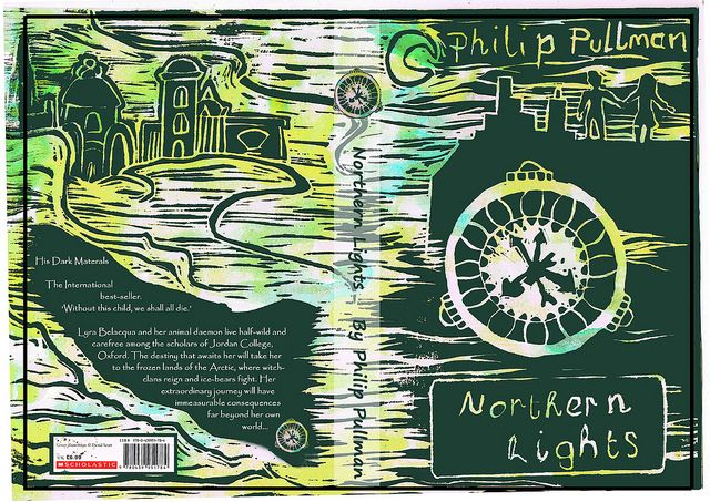 Northern Lights Book Cover.