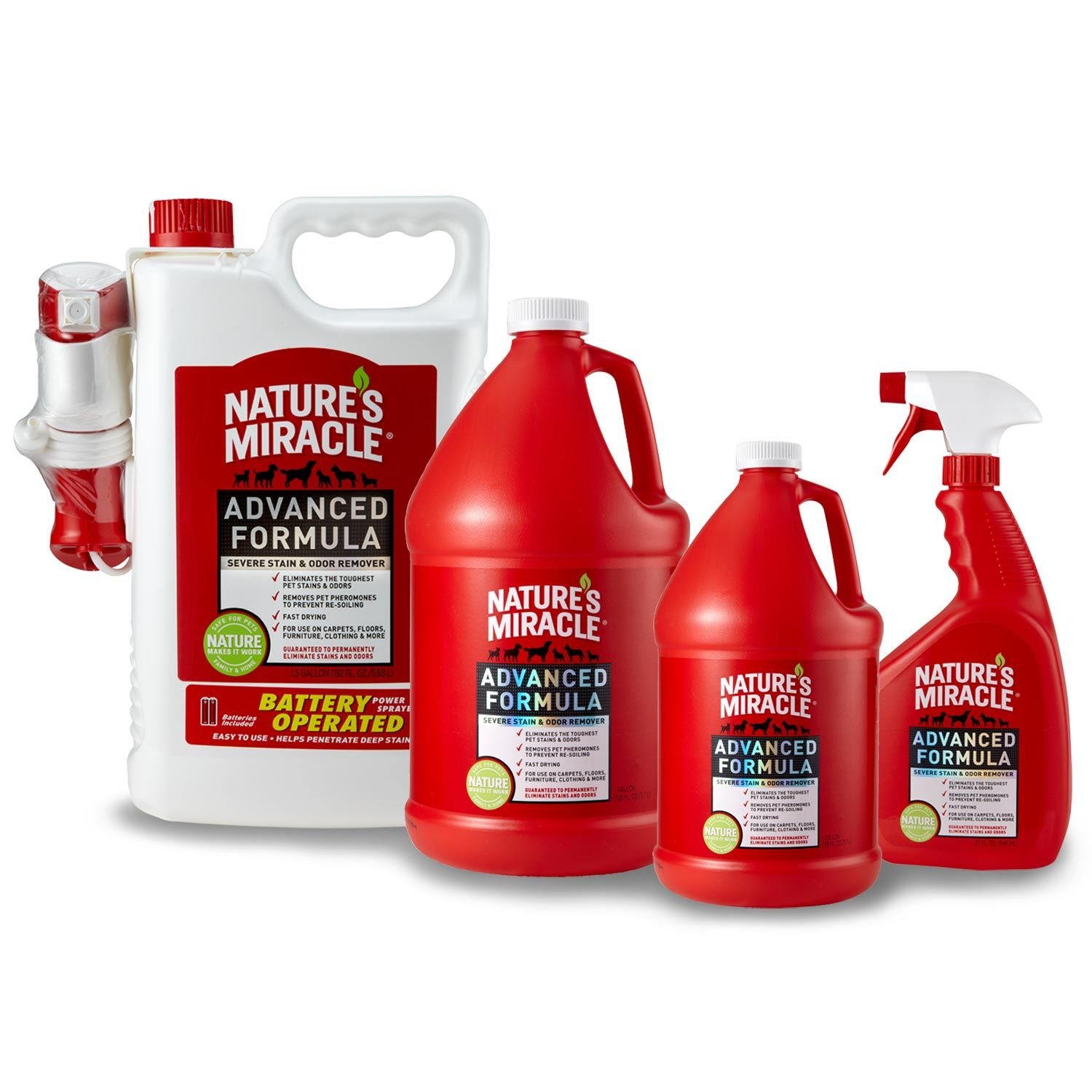 Natureu0027s Miracle Advanced Stain U0026 Odor Remover