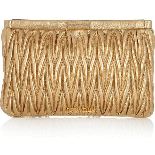 Miu Miu - yummy gold bag