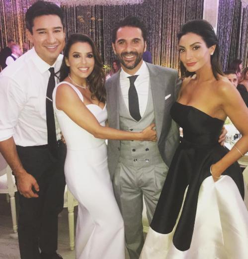 Le mariage d'Eva Longoria et José Baston