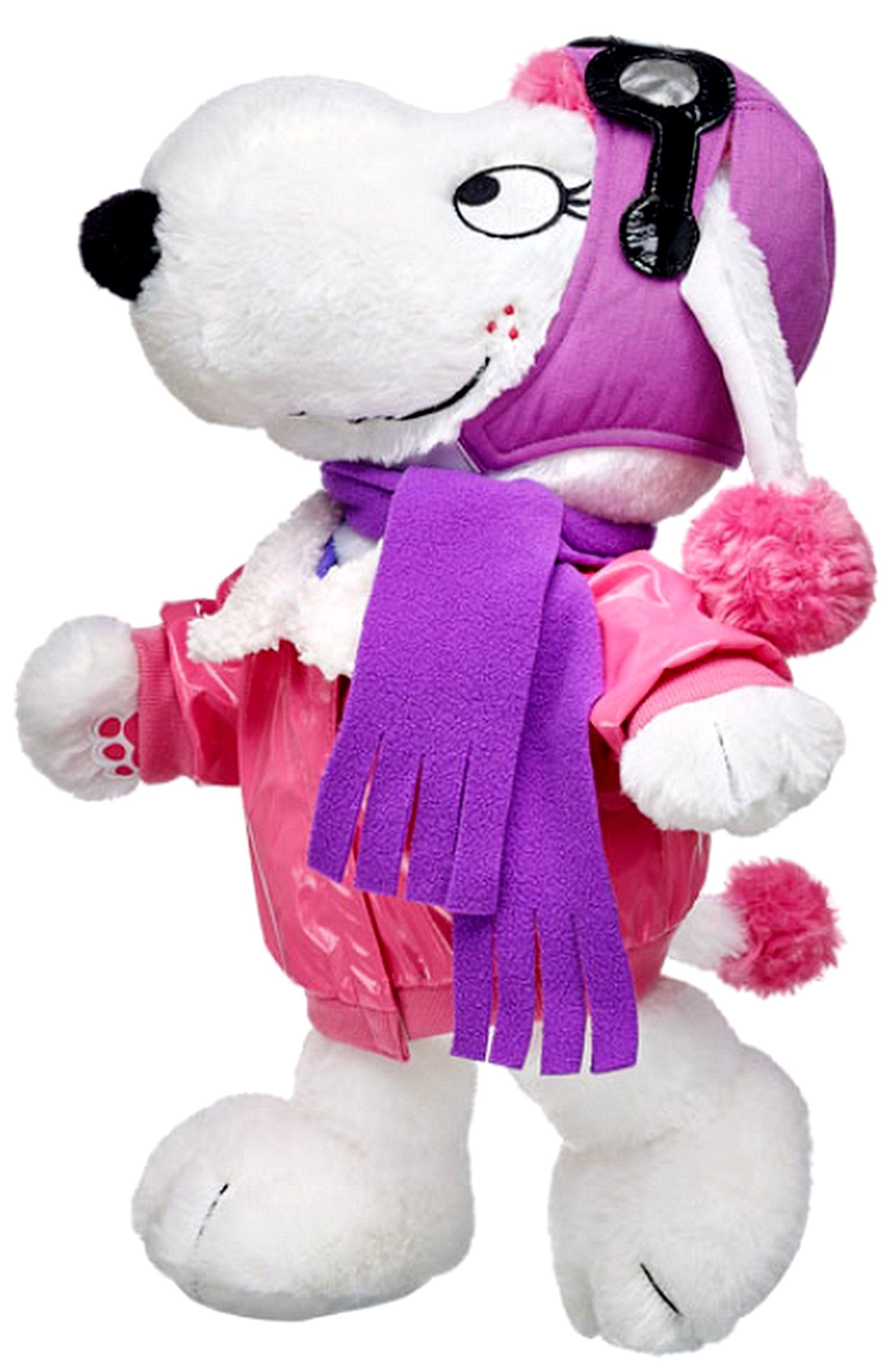 New Build a Bear Flying Fifi French Poodle Pup 17 inch Stuffed Plush Animal with Outfit LTD Snoopy Peanuts Movie Toy In Stock Now at http://www.bonanza.com/booths/TweetToyShop